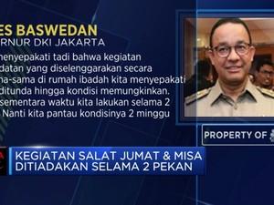 Hindari Corona, DKI Jakarta Tiadakan Kumpul Keagamaan 2 Pekan