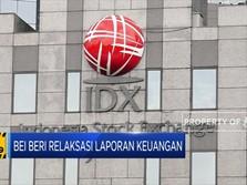 BEI Beri Relaksasi Laporan Keuangan