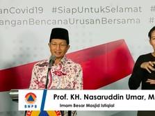 Salat Jumat Ditiadakan, Ini Pesan Imam Besar Masjid Istiqlal