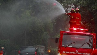 Daftar Rekayasa Lalin Imbas Penyemprotan Disinfektan Jakarta