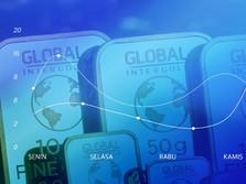 Corona Bikin Cemas, Sepekan Harga Emas Dunia Drop 1,4%