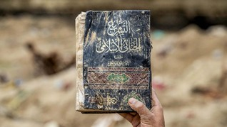 FOTO: Sisa-sisa Pertempuran ISIS di Suriah
