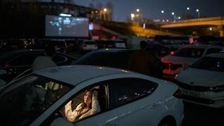 Bioskop Drive-In Korsel Laris Manis Kala Corona Melanda