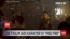 VIDEO: Joe Taslim Jadi Karakter di 'Free Fire'