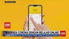 VIDEO: Waspada Corona dengan Belajar Online