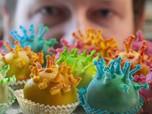 Gagal Pameran, Koki Jerman Ini Buat Kue Bentuk Virus Corona