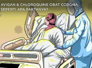 Avigan & Chloroquine Obat Corona, Seperti Apa Faktanya?