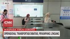 VIDEO: Transportasi Dibatasi, Penumpang Lengang