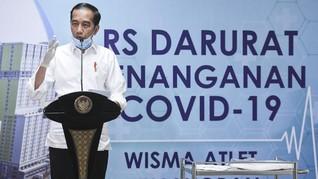 Teken PP Corona, Jokowi Minta Kepala Daerah Tak Jalan Sendiri