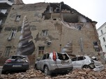 Sedang Lockdown, Kota Zagreb Kroasia Diguncang Gempa M 5,3