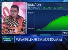 Melemah 3,5% terhadap Greenback, Rupiah Tembus 16.460/USD