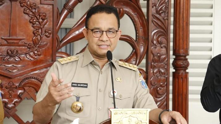 Anies mengatakan kondisi di DKI Jakarta terkait virus corona atau covid-19 mengkhawatirkan.
