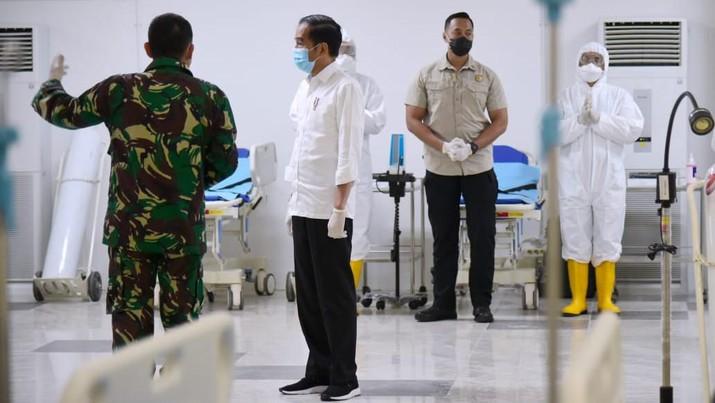 Rumah Sakit Darurat Penanganan COVID-19 di Wisma Atlet Kemayoran sudah siap beroperasi. Rencananya pada jam 17:00 WIB Wisma Atlet sudah bisa digunakan.