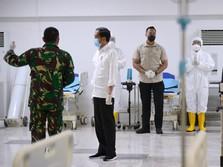 RI Lawan Corona, 566 Personil Bertugas di RS Wisma Atlet