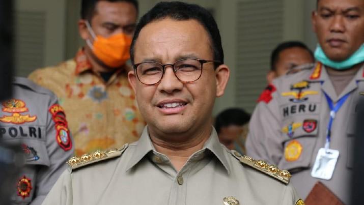 Demikian penjelasan Anies selepas bertemu Kapolda Metro Jaya dan Pangdam Jayakarta di Balai Kota Jakarta, Senin (23/3/2020).