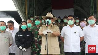 China Tanya Kebutuhan RI, Prabowo Kirim Daftar Alkes Corona