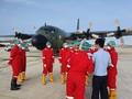 Pesawat Pengangkut Alkes Corona dari China Tiba di Halim