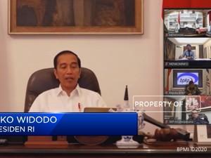 Jokowi: Pengobatan Pasien Covid 19 Ditanggung BPJS Kesehatan