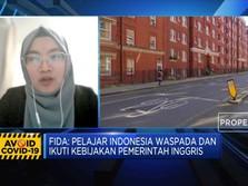 Inggris Lockdown, Pelajar Indonesia di UK Dalam Kondisi Baik