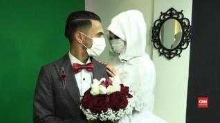 VIDEO: Pasangan Palestina Menikah di Tengah Pandemi Corona