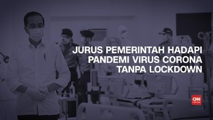VIDEO: 5 Langkah Ekonomi Jokowi Lawan Corona Tanpa Lockdown
