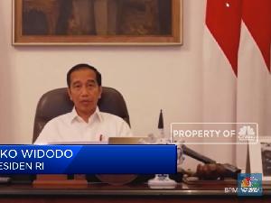 Jokowi Ungkap Alasan Tidak Lockdown Kepada Para Gubernur