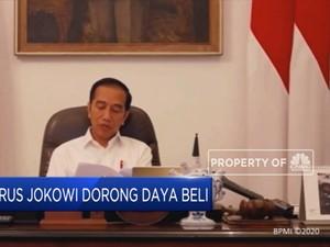 3 Jurus Jokowi Dorong Daya Beli