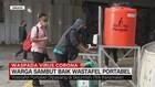 VIDEO: Warga Sambut Baik Wastafel Portabel di Jakarta