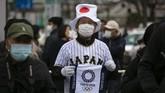 Penyelenggaraan Olimpiade 2020 belum dapat dipastikan bakal sesuai rencana awal, pada 24 Juli hingga 9 Agustus. (AP Photo/Jae C. Hong)
