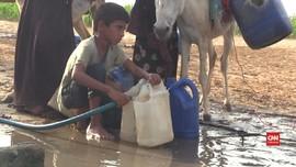 VIDEO: Cemas Wabah Corona dan Krisis Air Bersih di Yaman