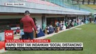 VIDEO: Rapid Test Tak Indahkan 'Social Distancing'