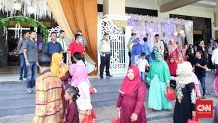 Cegah Corona, Polres Bangkalan Bubarkan Resepsi Pernikahan