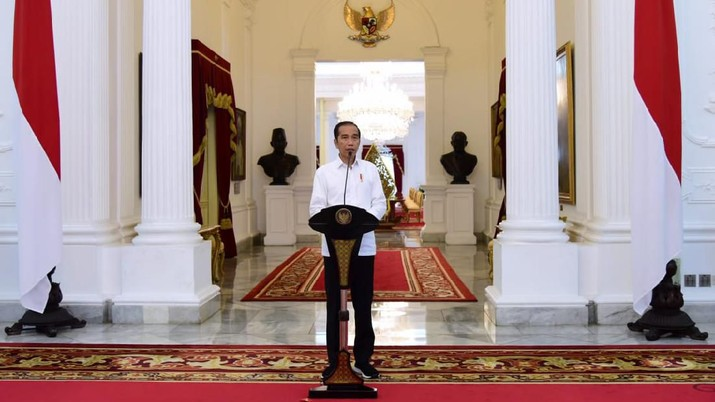 Presiden Joko Widodo (Jokowi) memperkirakan defisit Anggaran Pendapatan dan Belanja Negara (APBN) 2020 bisa mencapai 5,07%