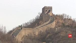 VIDEO: Wisata di Tembok Besar China Kembali Dibuka