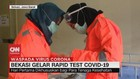 VIDEO: Bekasi Gelar Rapid Test Covid-19