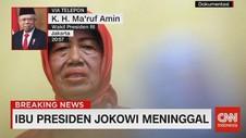 VIDEO: Maruf: Ibunda Jokowi Berperan Besar Dalam Karir Jokowi