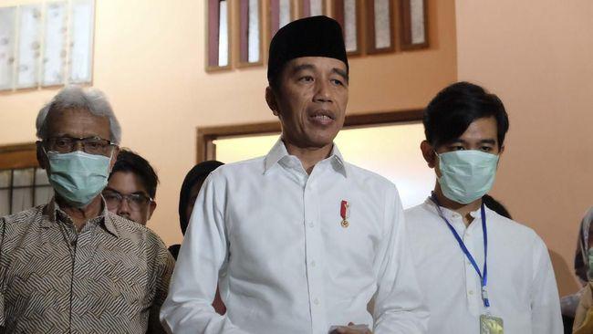 Sejumlah Menteri dan Pejabat Tinggi Melayat Ibunda Jokowi