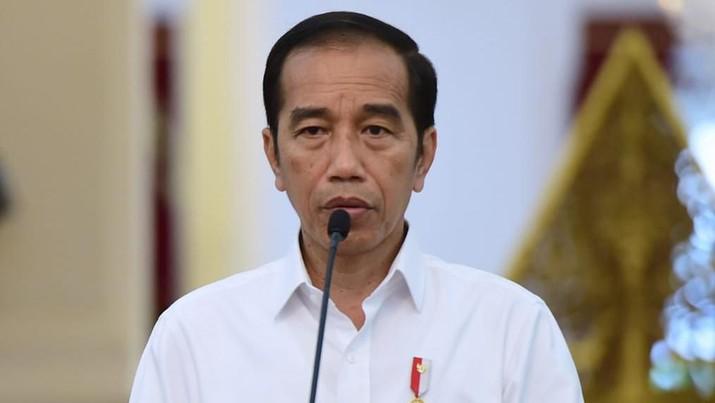 Jokowi via channel Youtube Sekretariat Presiden yang diunggah Jumat (10/4/2020).
