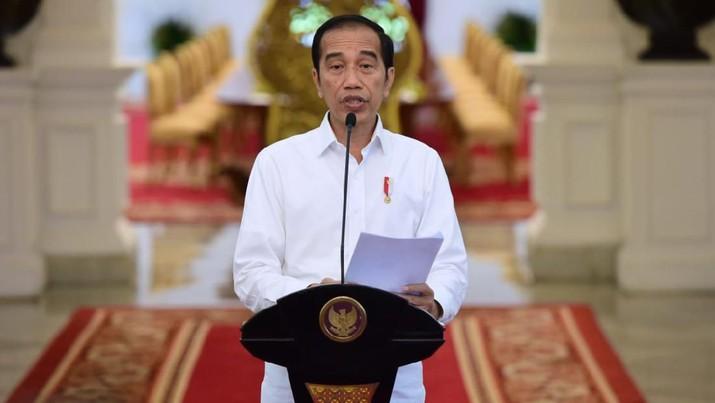 Presiden Jokowi mengingatkan soal ancaman krisis pangan karena pandemi corona yang sempat disampaikan oleh FAO.