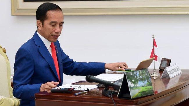 Jokowi Bunyikan Genderang Perang Lawan Corona di KTT G20