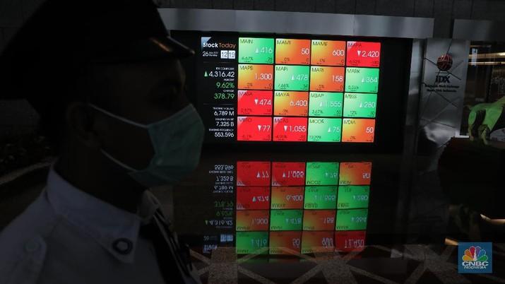 Dalam sepekan terakhir, total dana asing yang keluar dari bursa saham Indonesia mencapai Rp 1,75 triliun.