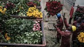 Negara-negara di Benua Afrika tak luput dari 'target' penyebaran pandemi virus corona.(Yasuyoshi CHIBA / AFP)