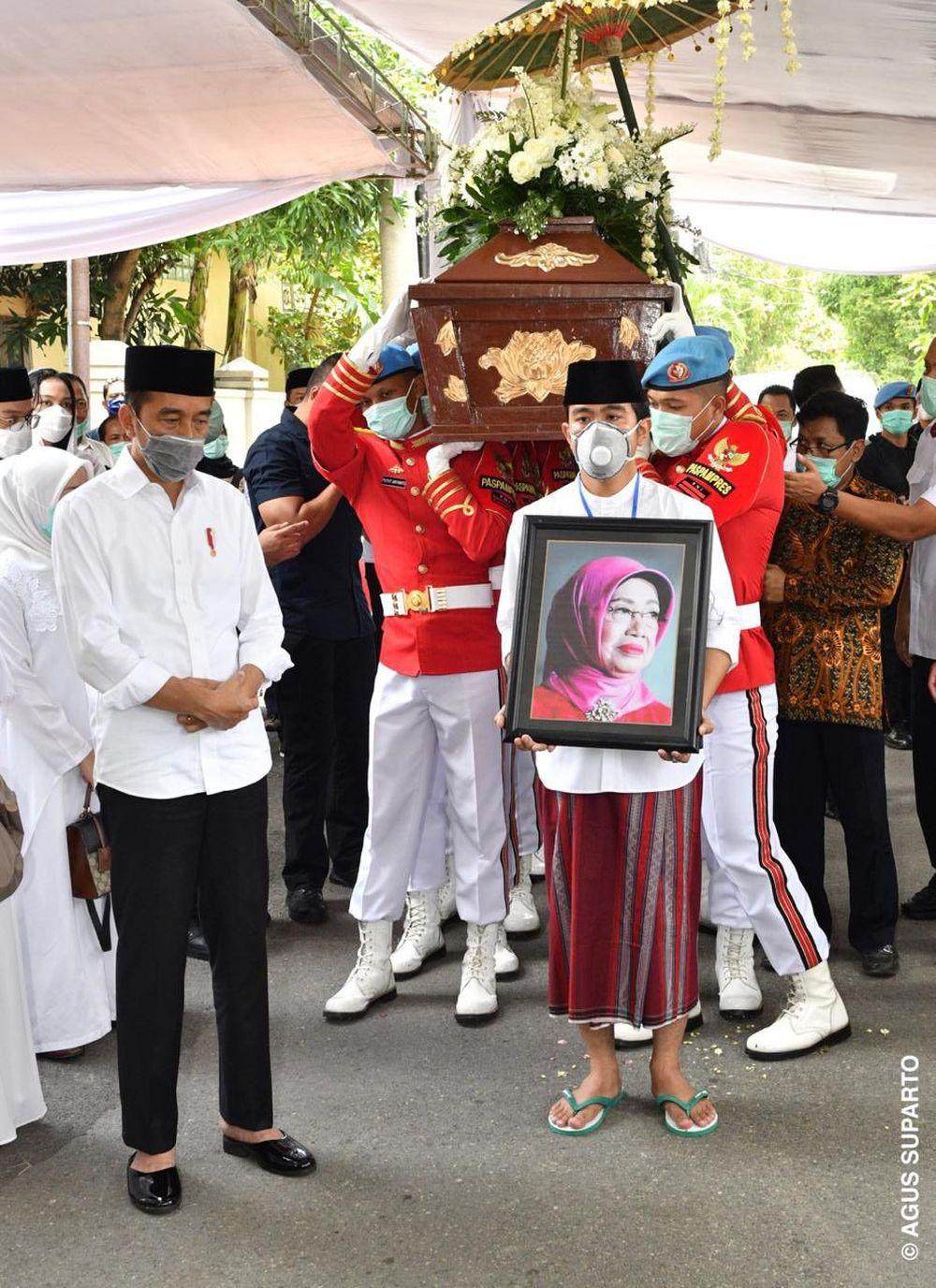 Sujiatmi meninggal dunia di Solo, Rabu (25/3/2020), akibat sakit yang diderita. (Dokumentasi Agus Suparto)