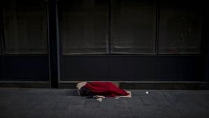 FOTO: Nasib Tunawisma Spanyol di Tengah Lockdown Corona