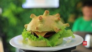 VIDEO: 'Coronaburger' Diciptakan Di Tengah Pandemi Covid-19