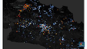 Peta Kasus Corona Jabar 8 April Bekasi Bandung Terbanyak