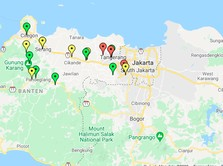 Peta Corona Banten, Kabupaten Tangerang Terbanyak COVID-19