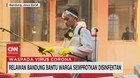 VIDEO: Relawan Bandung Bantu Warga Semprotkan Disinfektan
