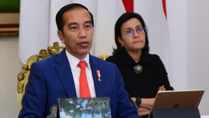 Cerita Sri Mulyani yang Puji Jokowi, Bangga sekaligus Haru