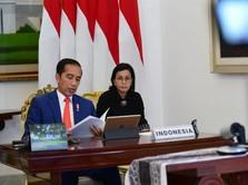 Saat Sri Mulyani Terharu dengan Jokowi: Kami Bangga, Pak!